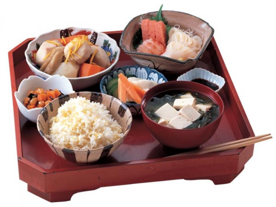 Menú típico japonés