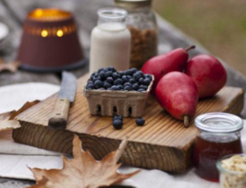 El otoño y sus frutas